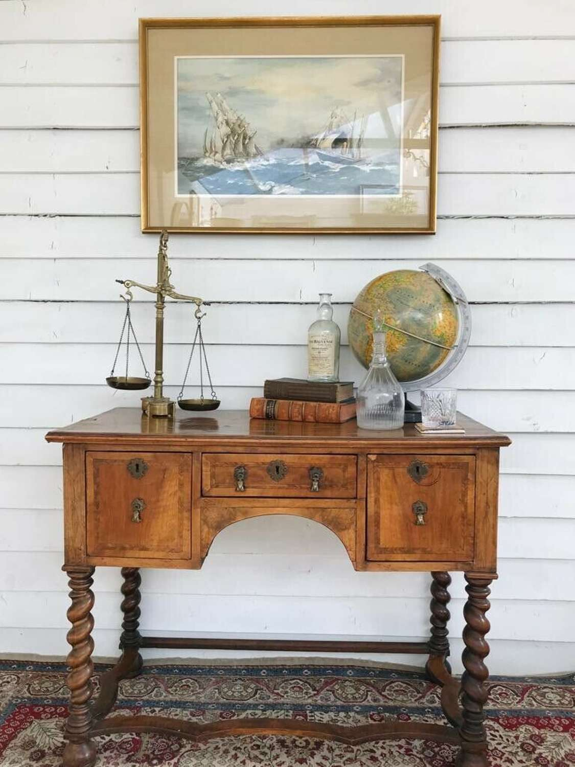 18th Century walnut sideboard
