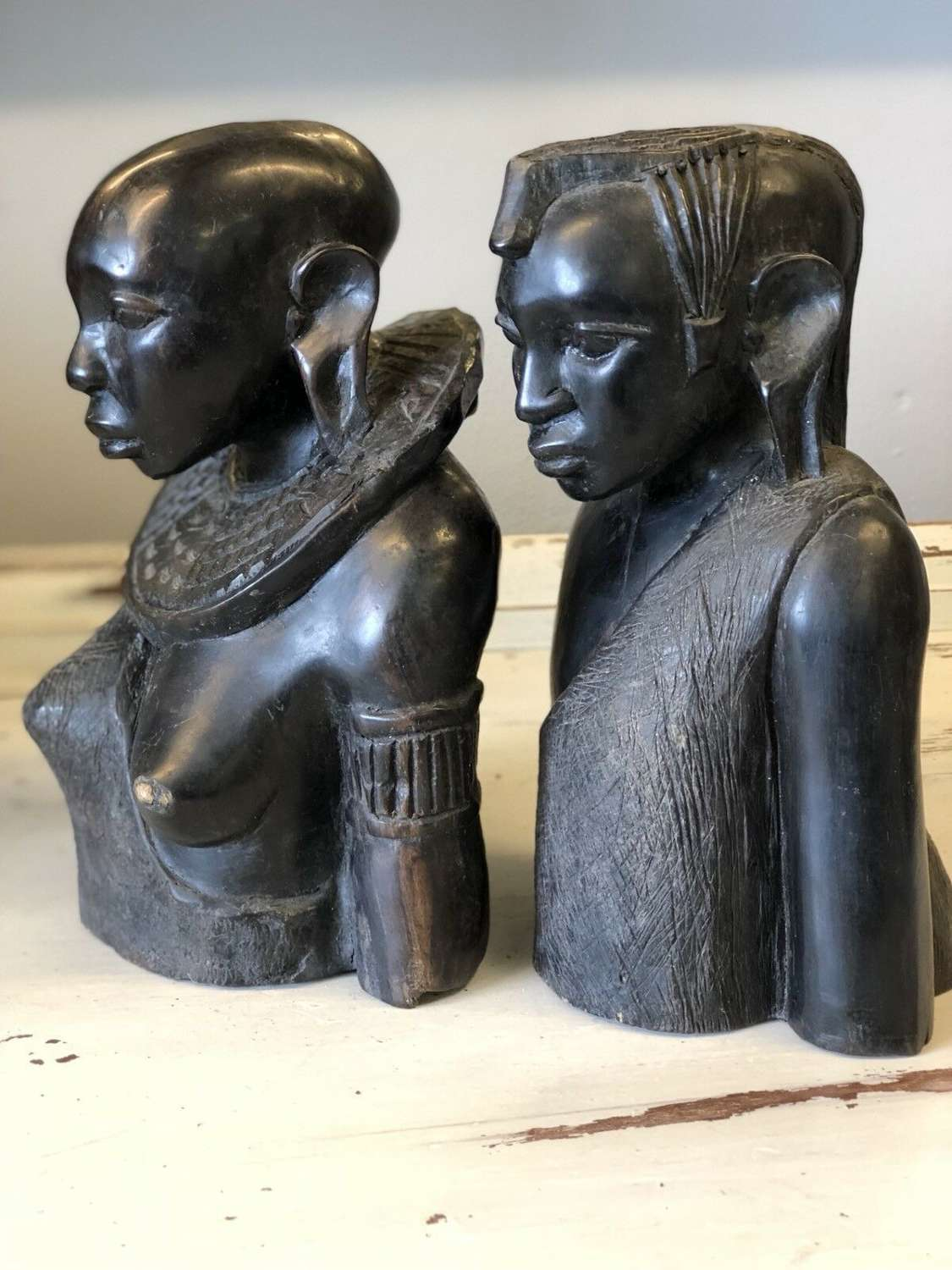 A Pair Of African Tribal Figures