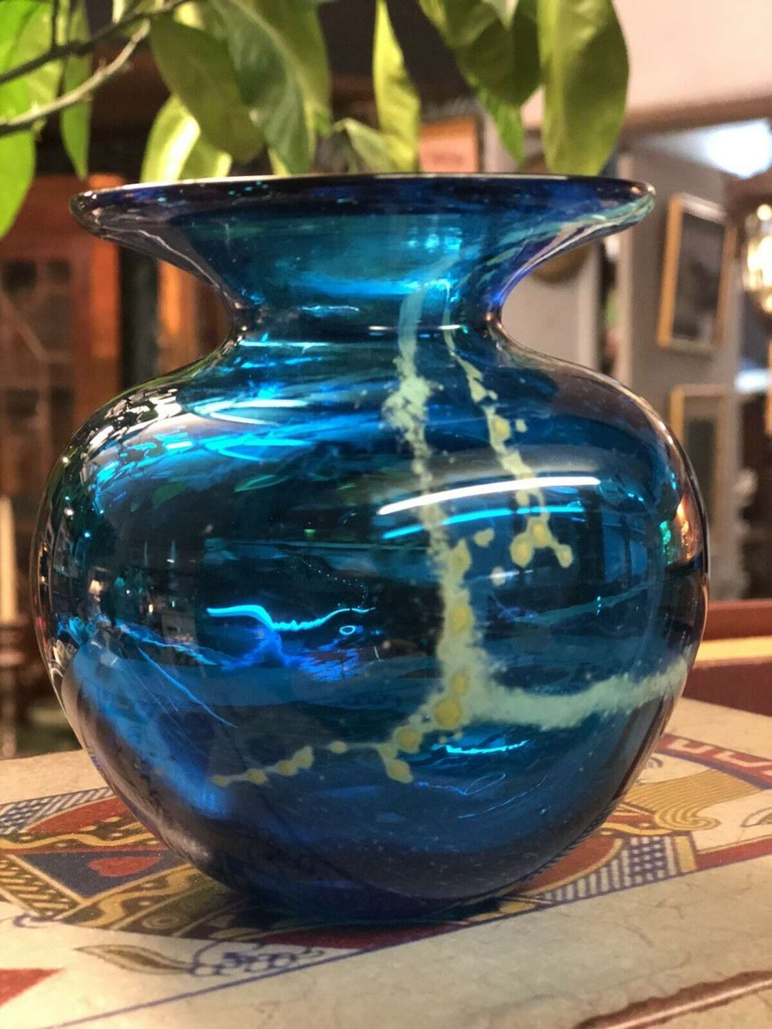 Mdina Small Glass Vase.