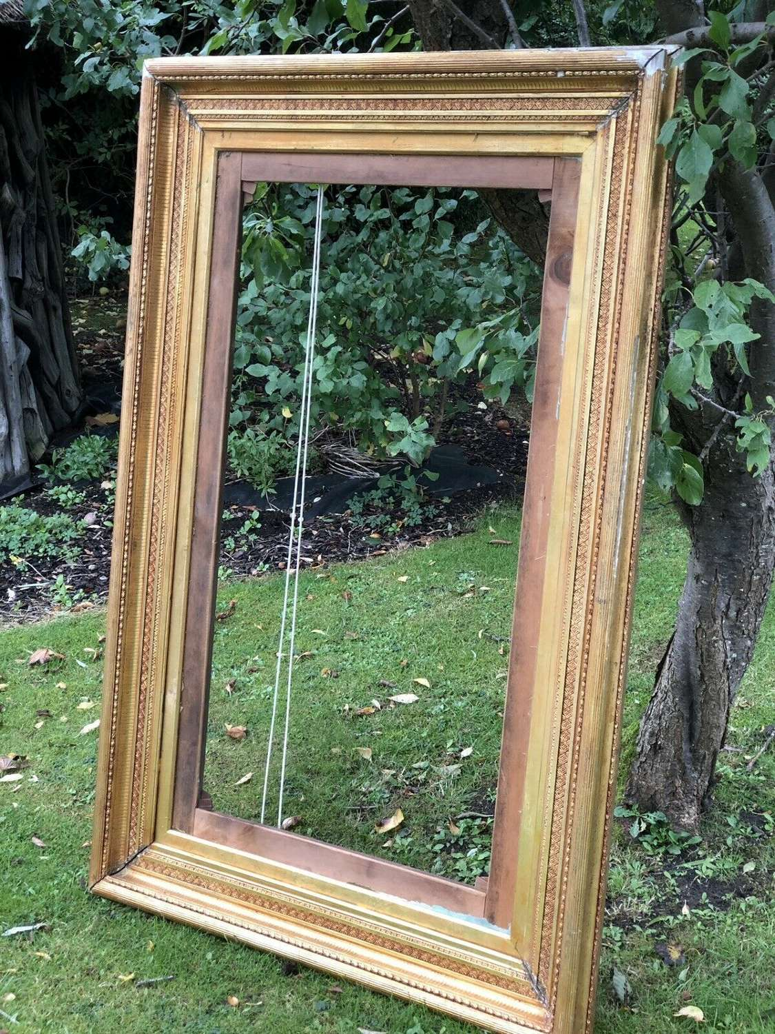 Large 19th Century Gilt Picture frame