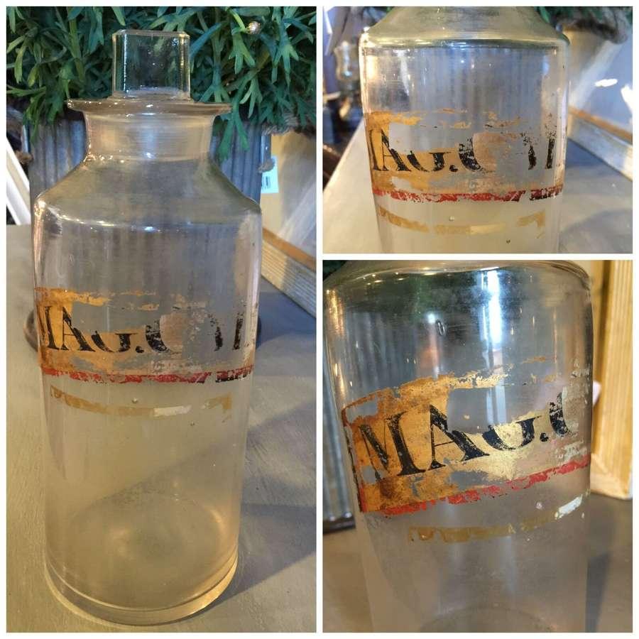 19th Century apothecary jar