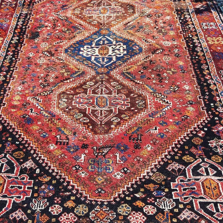 Large Shriaz Rug Country House Carpet