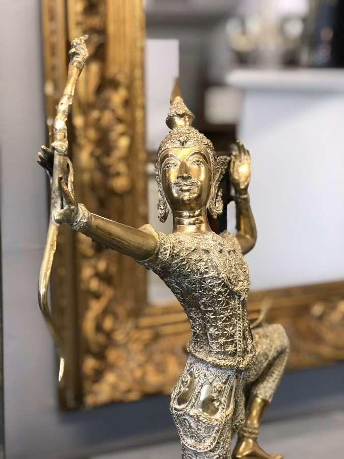 Brass Shiva