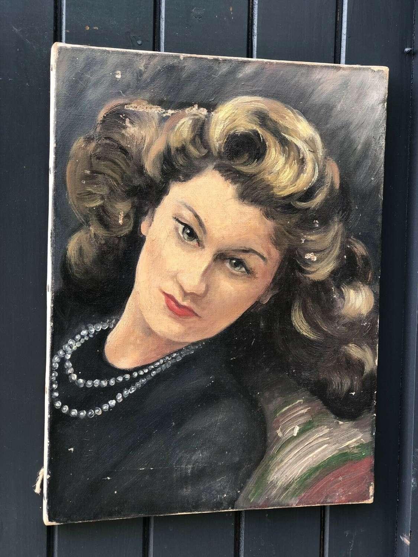 40's portrait
