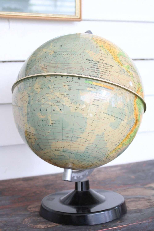 West German globe