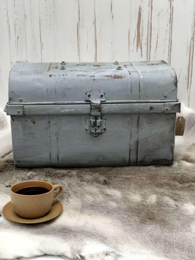 Scandi metal trunk
