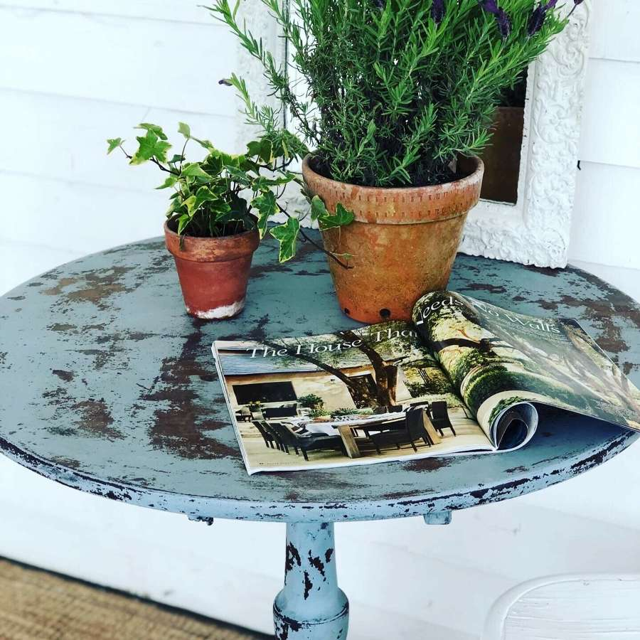 19th Century painted table