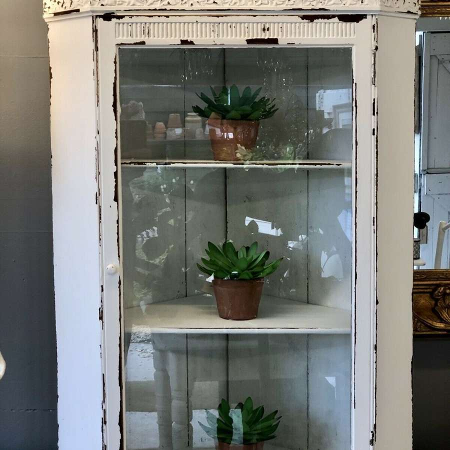 Victorian painted cabinet
