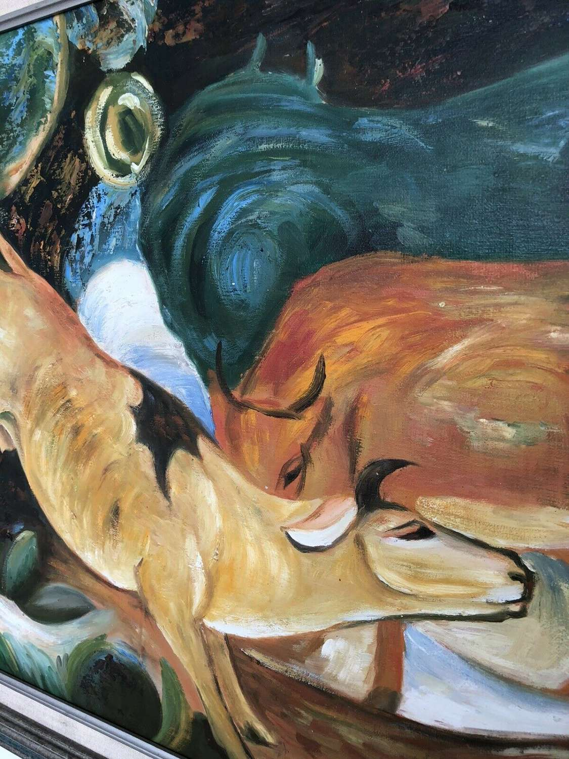 Yellow Cow after Franz Marc