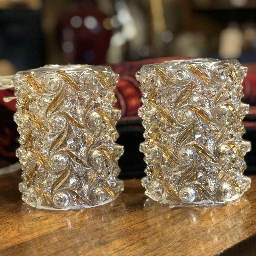 Vintage Glass Light Shades