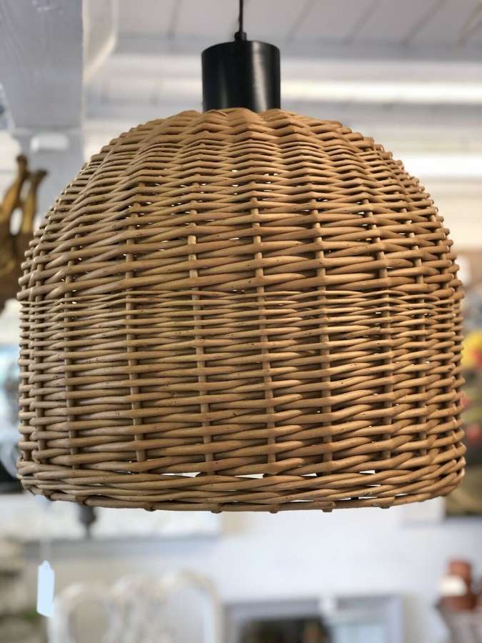 Lobster pot lampshade