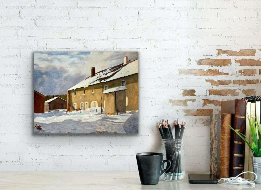 Snowy Scene Y.Bossiere