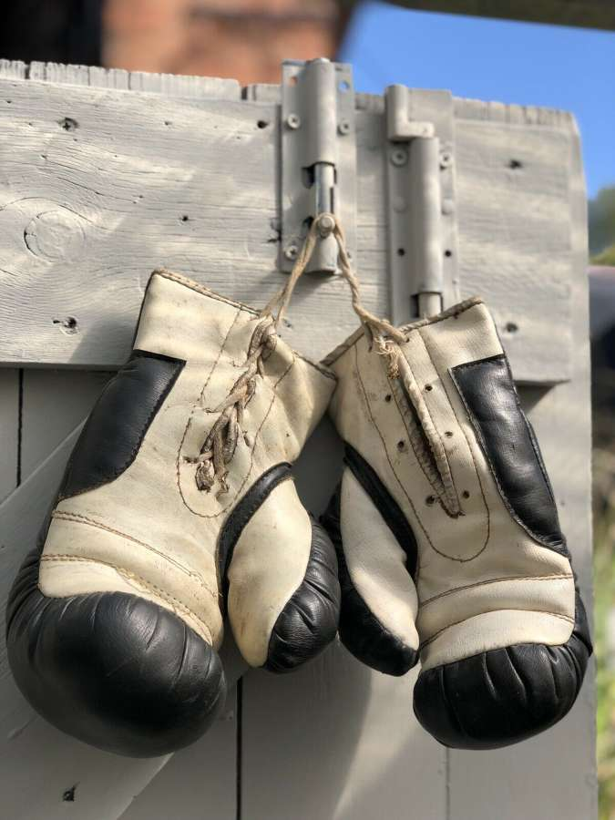 Vintage Kids Boxing Gloves