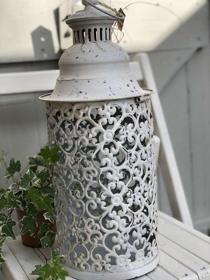 Scandi candle lantern