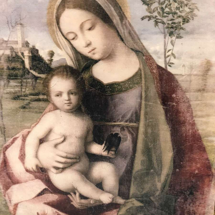 Giovani Bellini Madonna And Child Wall Art.