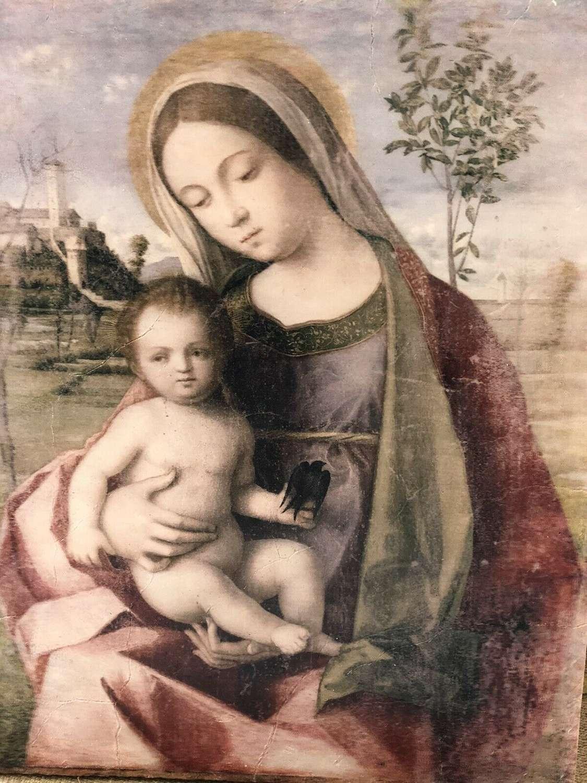 Giovani Bellini Madonna And Child Wall Art.