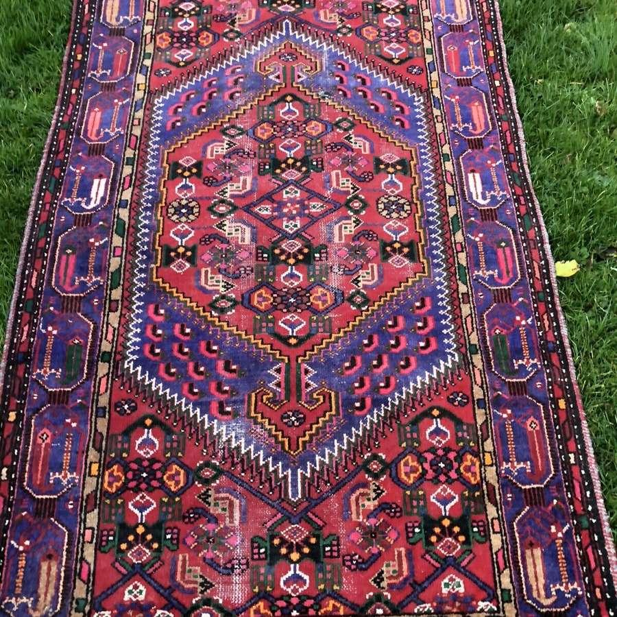 Vintage Hamedan Persian rug