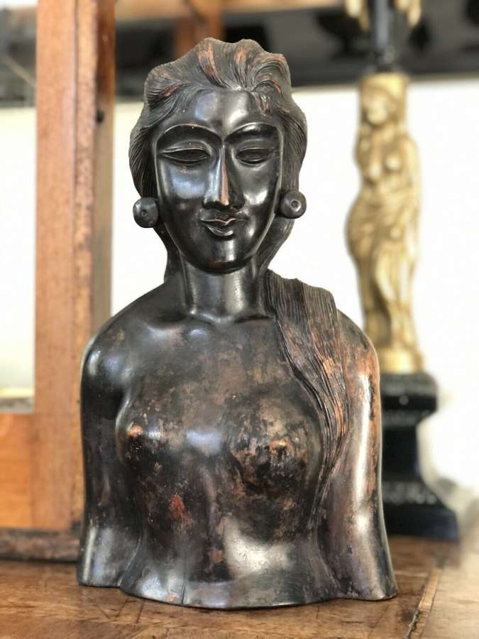 Antique Balinese figure