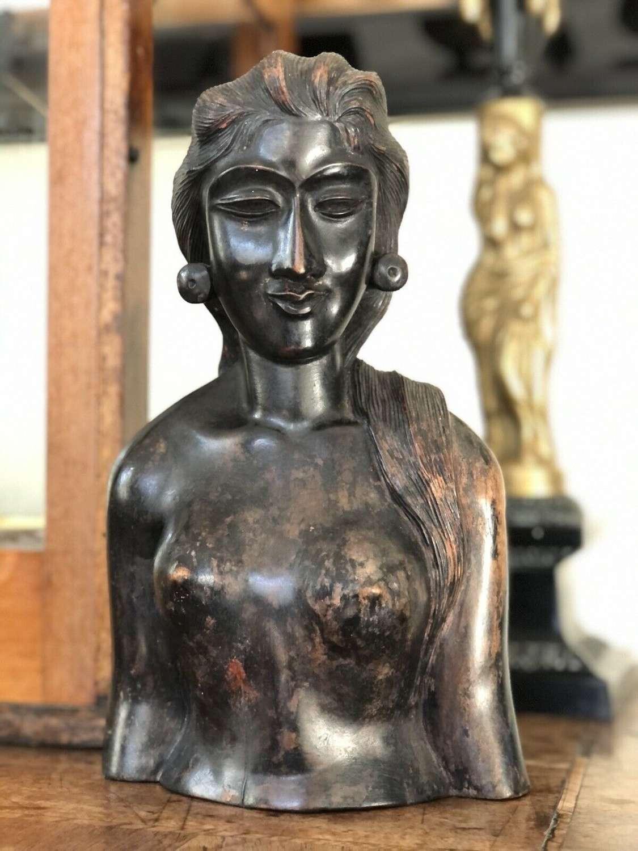 Antique Balinese figure