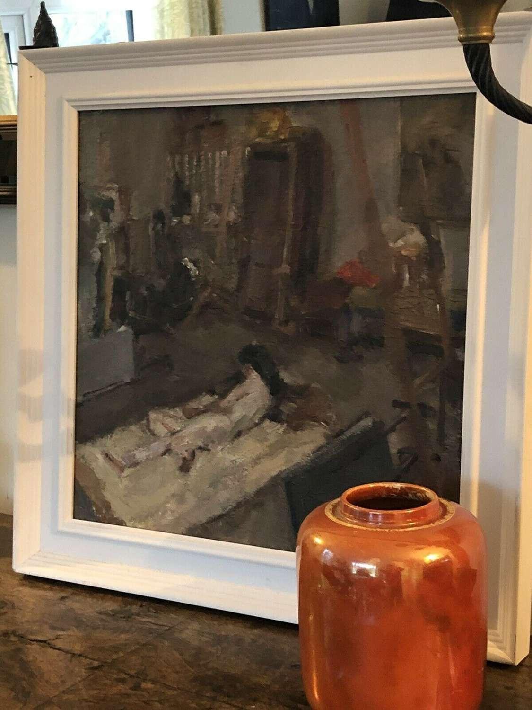The artists studio Roger Tolson