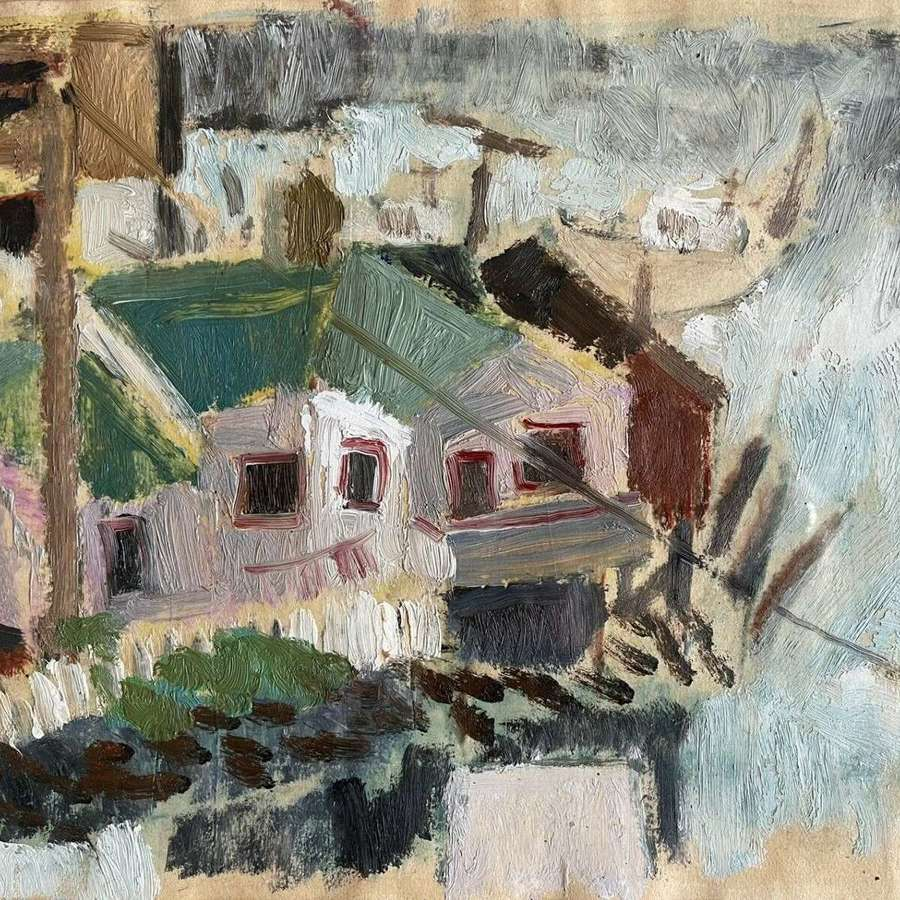 Louise Sturgis oil on paper