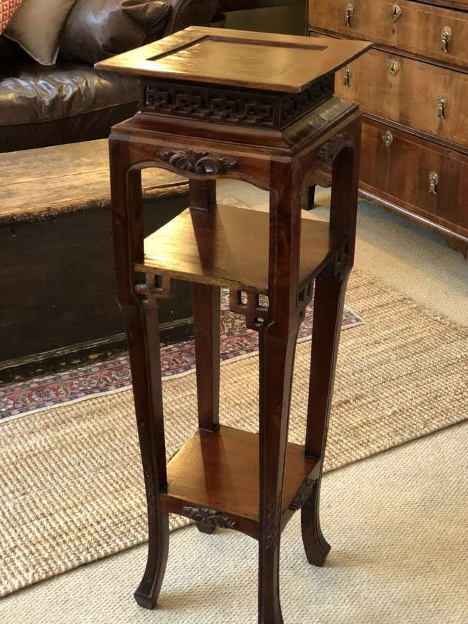 Antique Chinese jardiniere stand