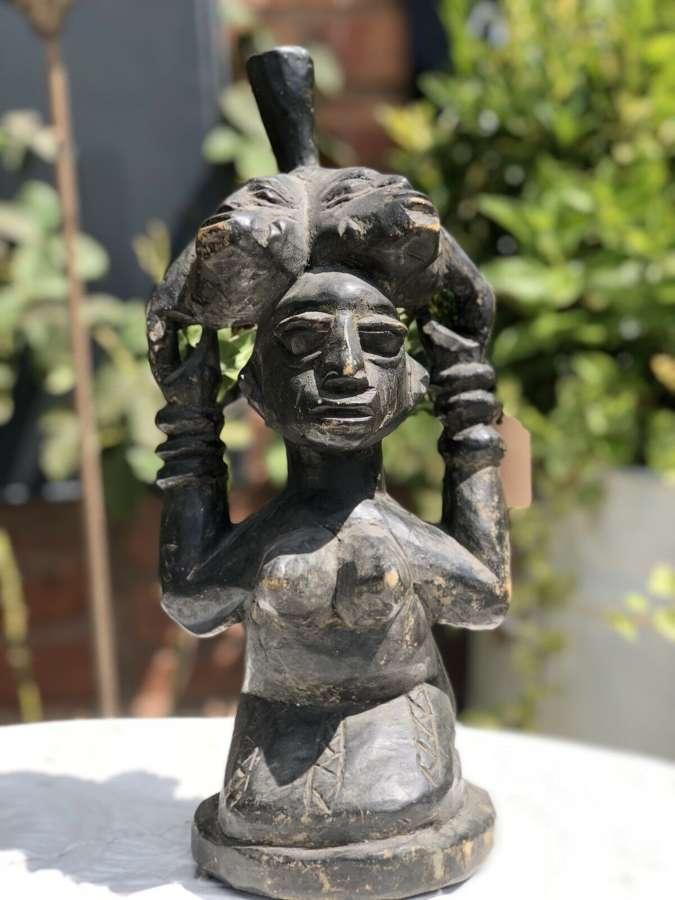 Yoruba Nigerian tribal carving