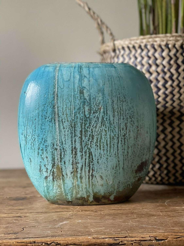 Gisella Hunting Studio Pottery Vase.