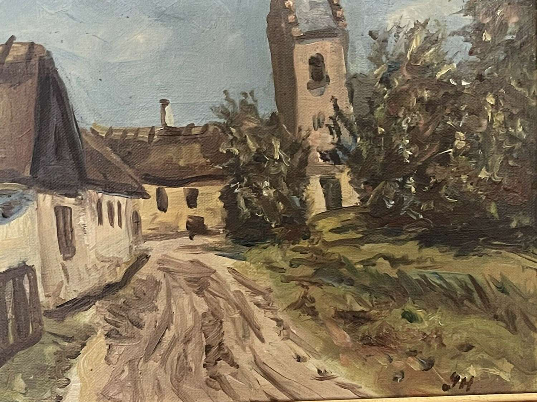 Gunnar Hansen Oil On Canvas painting