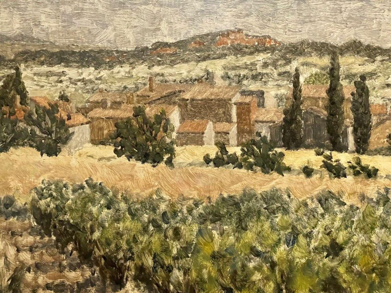 John Gordon Bill RWA Original Oil 1971 Vaucluse Provence France
