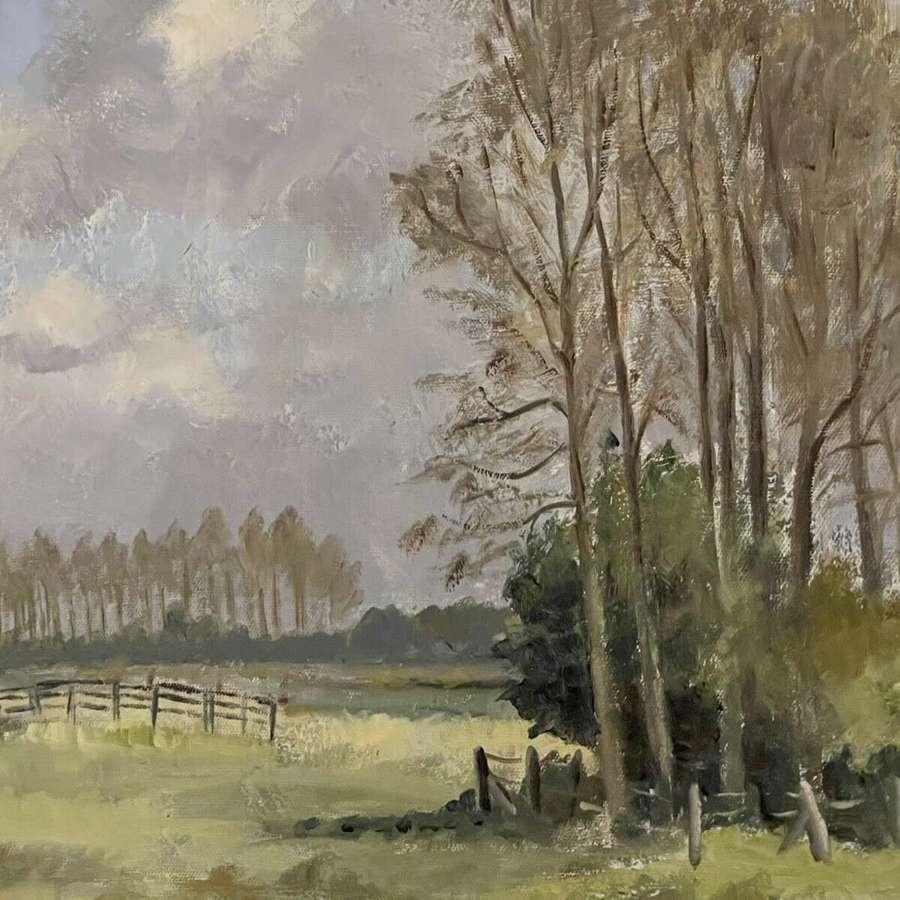 Landscape painting M Hogg