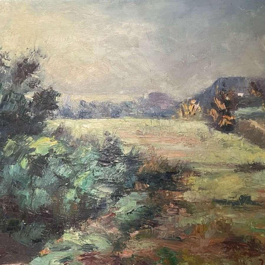 French impressionist landscape