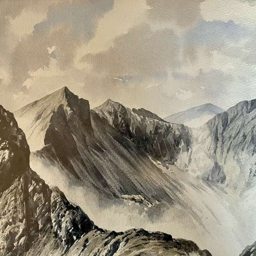 Original Watercolour J Ingham Riley