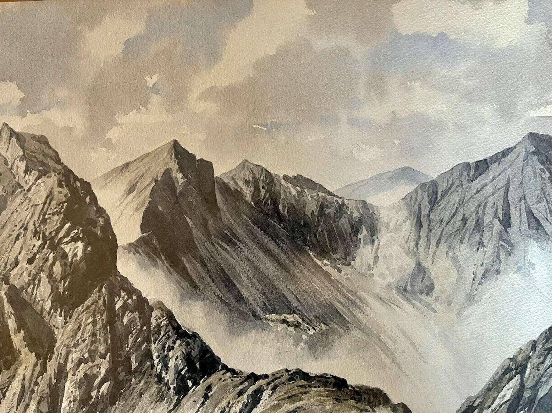 Original Watercolour J Ingham Riley