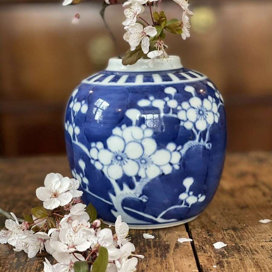 Chinese blue ginger jar