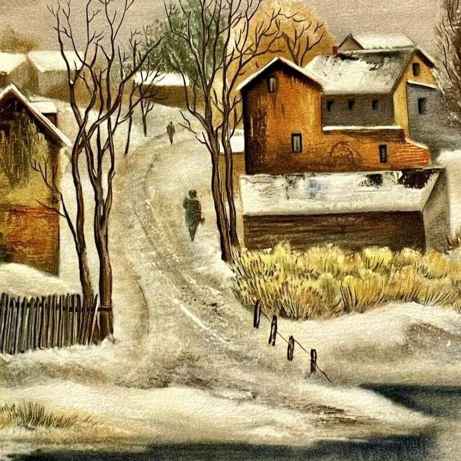 American Art Society Print 1939 Emil Ganso