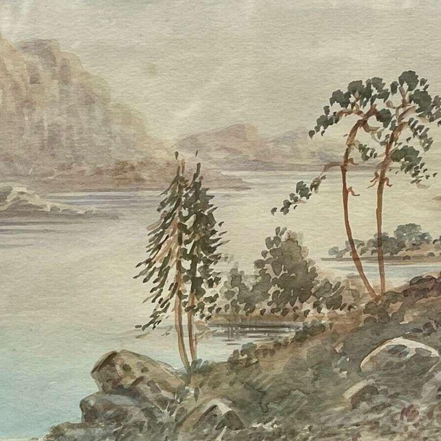 Loch Nagar By MK Farguhar.
