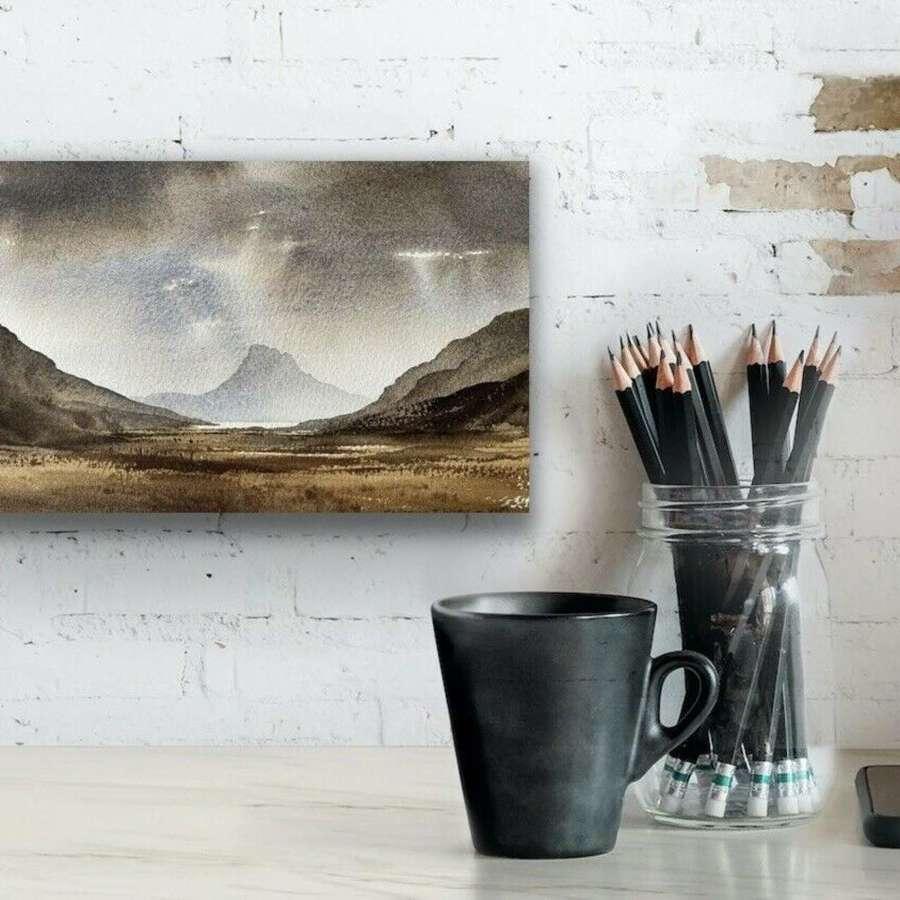 Johnathan Taylor watercolour Cumbria