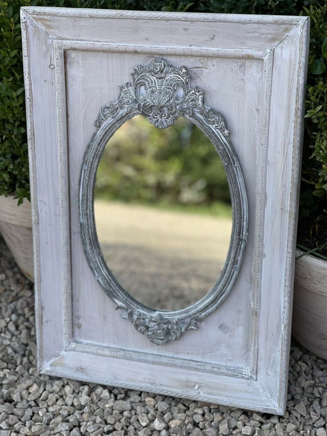 French style chateau mirror