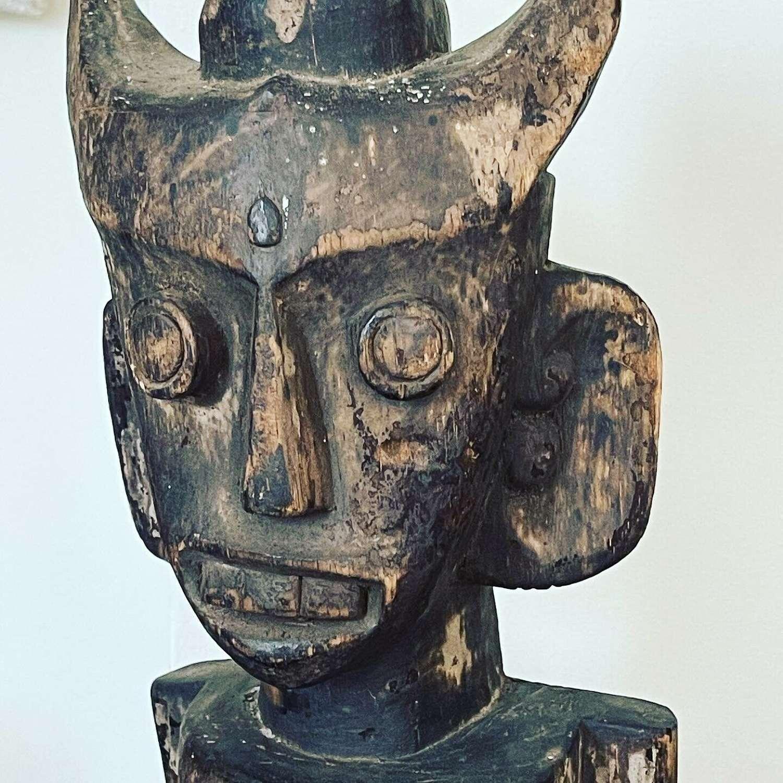 Indonesian tribal sculpture