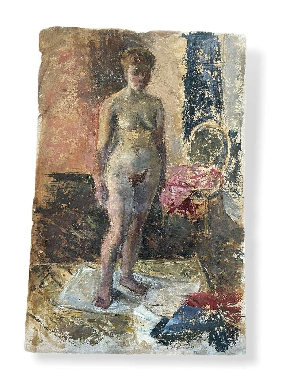 Mid century Female nude study