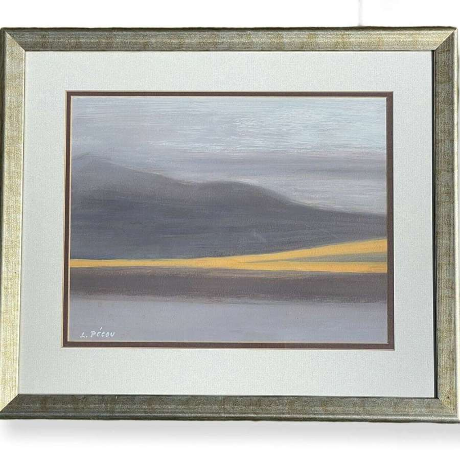 Louis Pecou abstract landscape