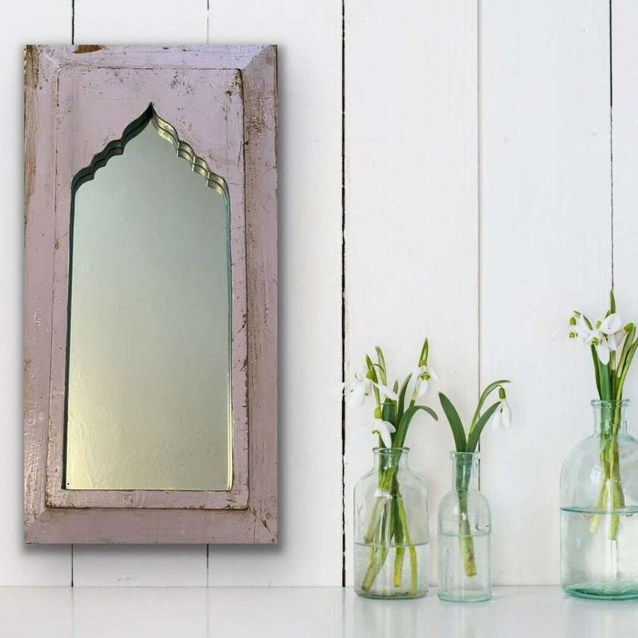 Reclaimed Bohemian mirror