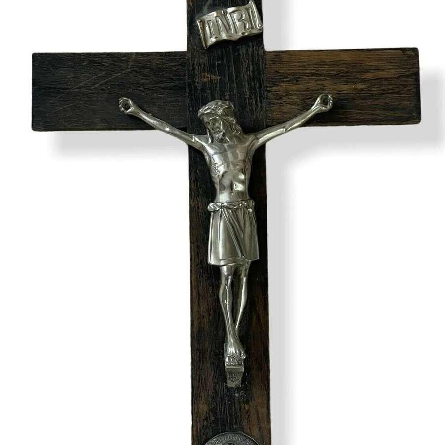 Vintage large crucifix