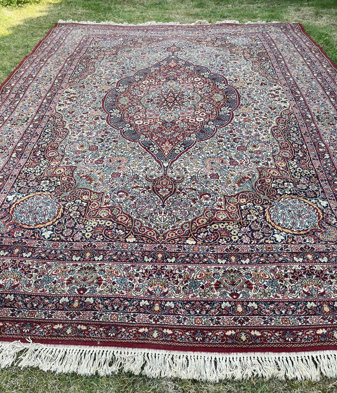 Large persian carpet
