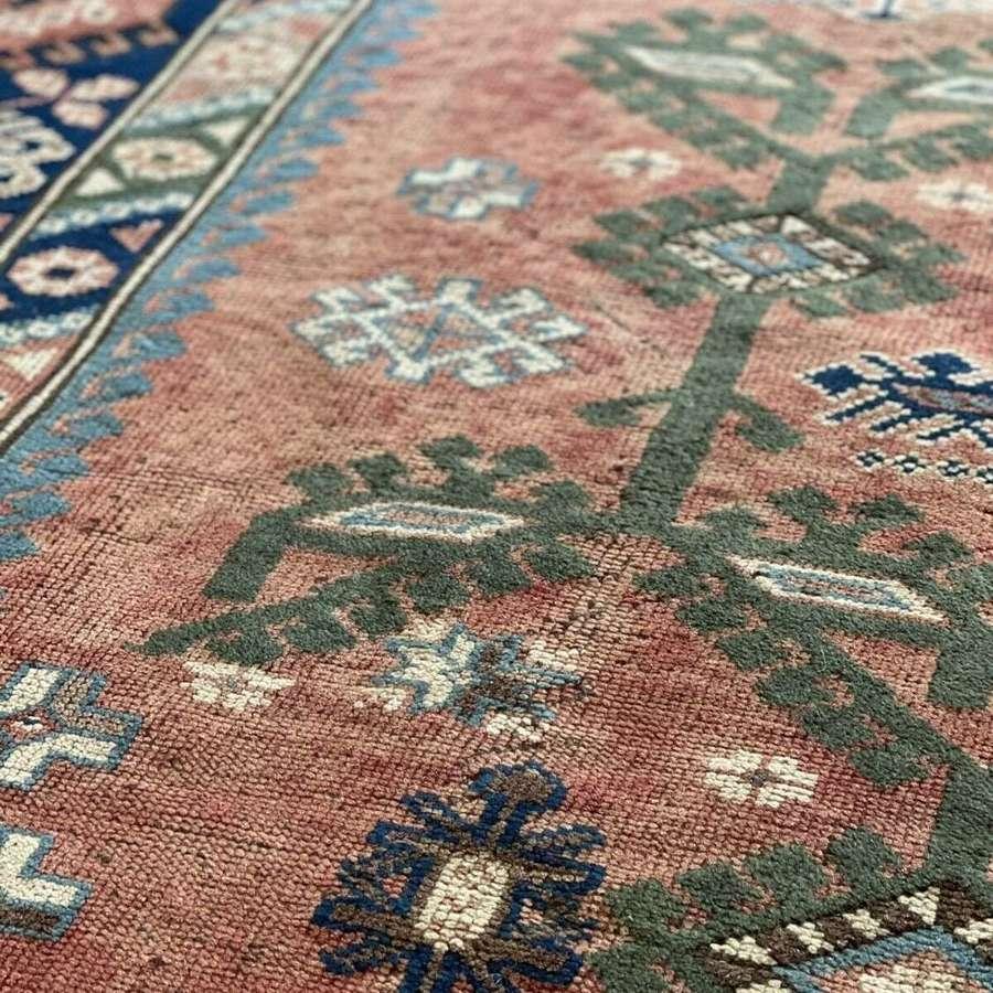 Vintage Kazak rug