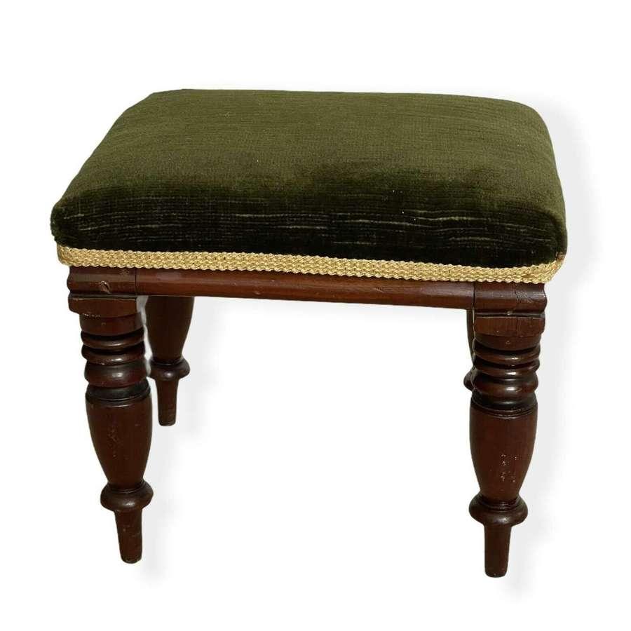 Victorian apprentice piece piano stool