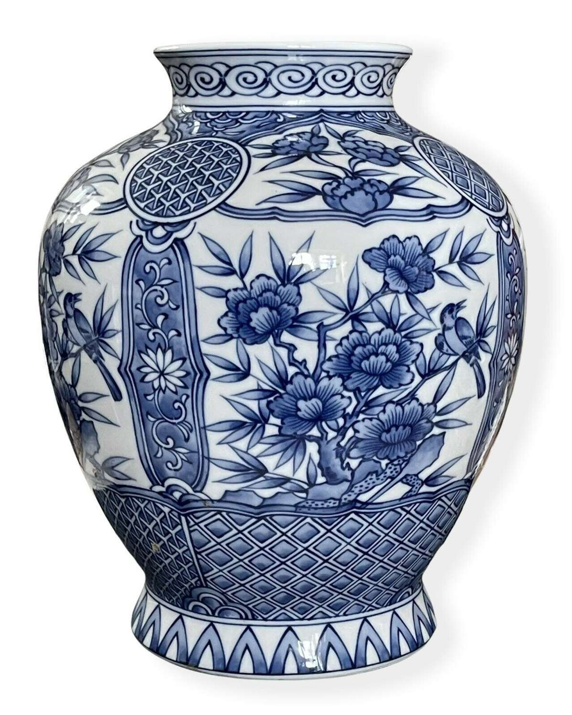 Decorative Japanese vase.