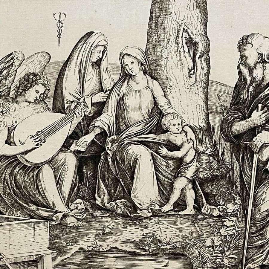 Leon Augustin Augustin Lhermitte, etching;