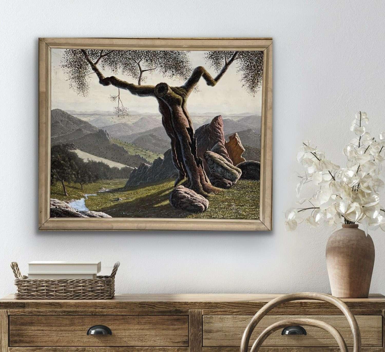 Felix Fernandez Torrado Oil On Canvas.